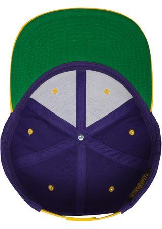 Flexfit / Yupoong Classic Snapback 2-Tone Cap in lila-gold – Bild 9
