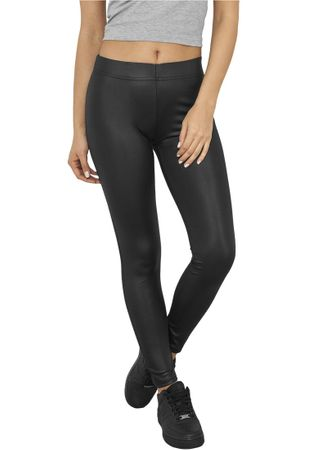 Urban Classics Ladies Leather Imitation Leggings von XS-XL – Bild 4