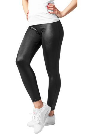 Urban Classics Ladies Leather Imitation Leggings von XS-XL – Bild 2