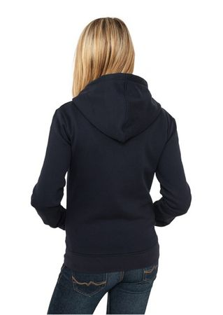 Urban Classics Ladies Zip Hoodie navy in den Größen S-XL – Bild 2
