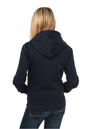 Urban Classics Ladies Zip Hoodie navy in den Größen S-XL – Bild 2