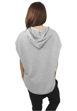Urban Classics Ladies Sleeveless Terry Hoody in grau von XS-XL – Bild 2