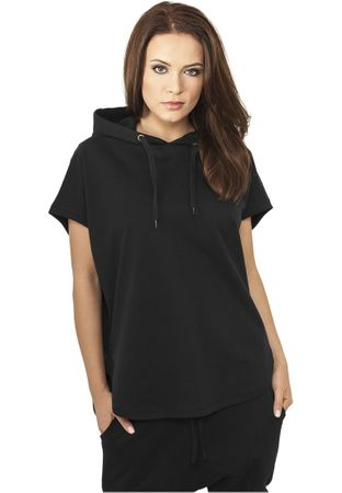 Urban Classics Ladies Sleeveless Terry Hoody schwarz in Größe XS-XL