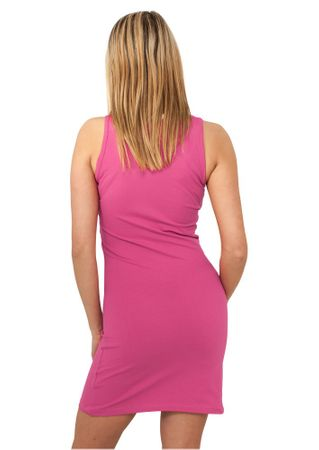 Urban Classics Ladies Sleeveless Dress fuchsia in Größe XS-XL – Bild 2