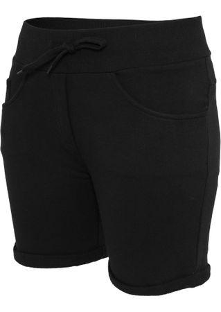 Urban Classics Ladies 5 Pocket Sweatshorts in schwarz von XS-XL – Bild 4