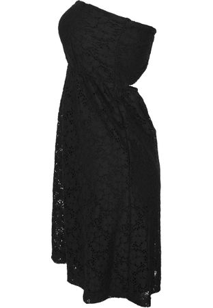 Urban Classics Ladies Laces Dress in schwarz von XS-XL – Bild 4