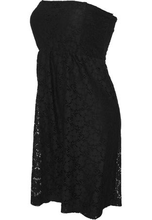 Urban Classics Ladies Laces Dress in schwarz von XS-XL – Bild 3