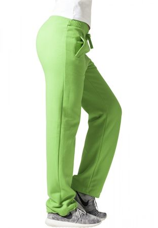 Urban Classics Ladies Loose Fit Sweatpants lime von XS-XL – Bild 4