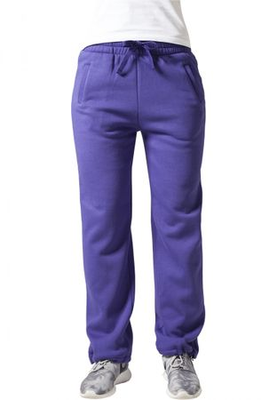 Urban Classics Ladies Loose-Fit Sweatpants lila von XS-XL – Bild 1