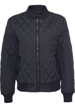 Urban Classics Ladies Diamond Quilt Nylon Jacket navy von Größe XS-XL – Bild 2