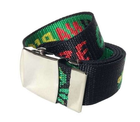 Stoffgürtel / Matrosengürtel / Canvas Belt in Cannabis von 115cm-150cm – Bild 1
