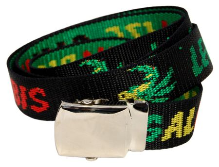 Stoffgürtel / Matrosengürtel / Canvas Belt in Cannabis von 115cm-150cm – Bild 2