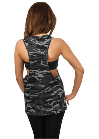 Urban Classics Ladies Camo Loose Tank Tops in urban von XS-XL – Bild 2