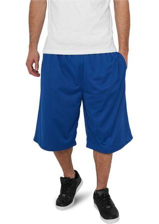 Urban Classics B-Ball Mesh Shorts mit Taschen in royal von Größe XS-M – Bild 1