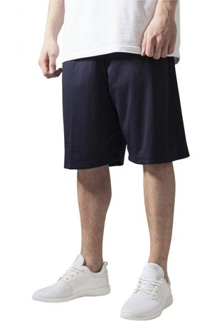 Urban Classics B-Ball Mesh Shorts in navy von S-3XL – Bild 1