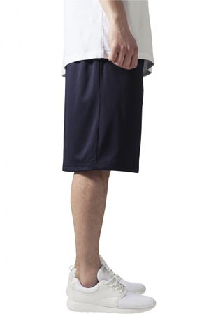 Urban Classics B-Ball Mesh Shorts in navy von S-3XL – Bild 3