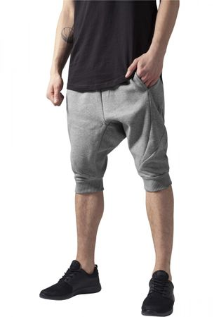 Urban Classics Deep Crotch Undefined Sweatshorts in grau von S-2XL – Bild 1