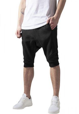 Urban Classics Deep Crotch Undefined Sweatshorts schwarz von S-2XL – Bild 1