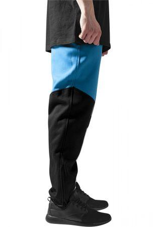 Urban Classics Zig-Zag Sweatpants in schwarz-türkis-weiß von XS-2XL – Bild 2