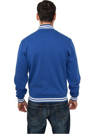 Urban Classics Sweat College Jacke in royal von Größe XS-3XL – Bild 2