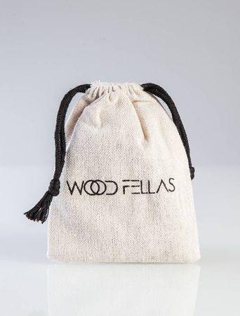 Wood Fellas Holzperlen Armkette in ocean-weiß von Gr: 6-12mm Deluxe Bracelet – Bild 5