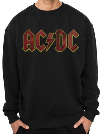 AC/DC  Sweatshirt Mulitcoloured Logo von M-2XL