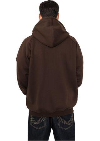 Urban Classics Blank Hoody in braun von Größe S-5XL – Bild 2