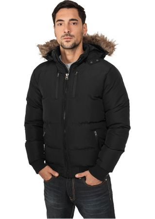 Urban Classics Expedition Winterjacke in schwarz von S-3XL