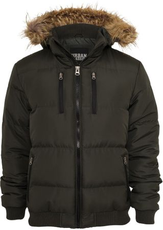 Urban Classics Expedition Winterjacke in olive von S-3XL