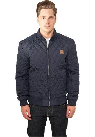Urban Classics Diamond Quilt Nylon Jacket navy von S-2XL – Bild 1