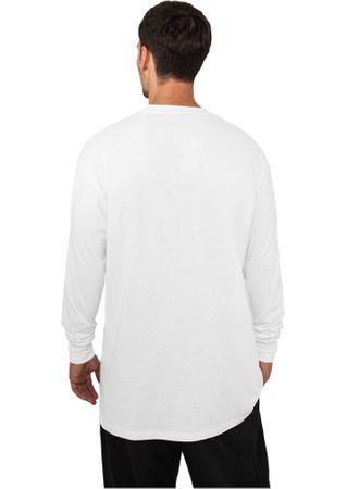 Urban Classics Longsleeves Shirt in weiß von M-6XL – Bild 2