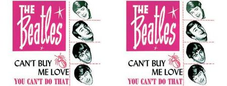 The Beatles Keramik Kaffeetasse Can't Buy Me Love mit Geschenkbox – Bild 2