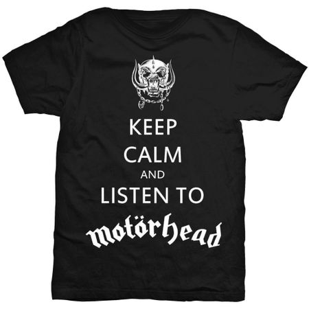 Motörhead Fan T-Shirt Keep Calm in 2XL
