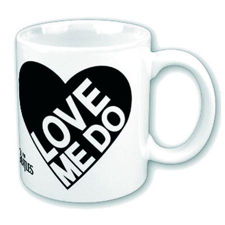 The Beatles Keramik Kaffeetasse Love Me Do Mens mit Geschenkbox