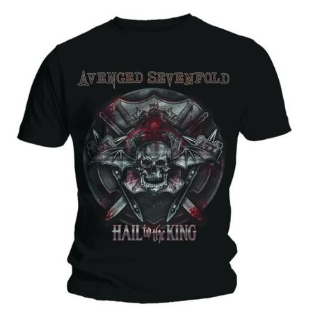 Avenged Sevenfold Bandshirt Battle Amour von S-2XL