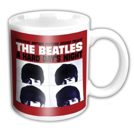 The Beatles Keramik Kaffeetasse US Album HDN Soundtrack mit Geschenkbox