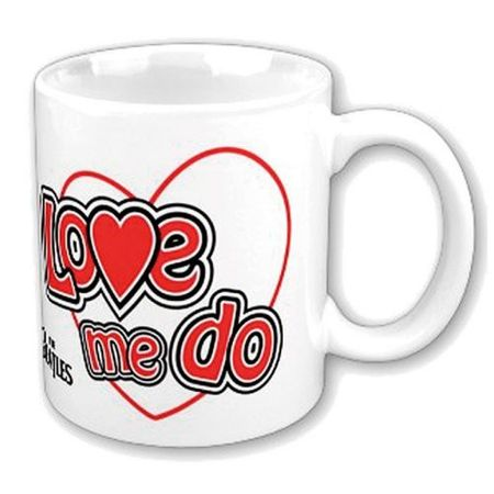 The Beatles Keramik Kaffeetasse Love Me Do Womens mit Geschenkbox