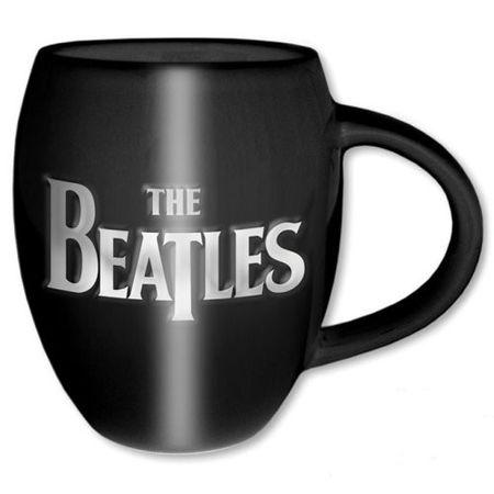 The Beatles Oval Kaffeetasse Drop T & Apple mit Geschenkbox