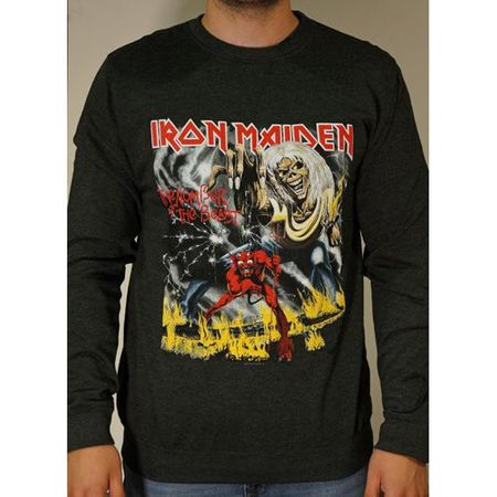Iron Maiden Sweatshirt Number Of The Beast von S-2XL