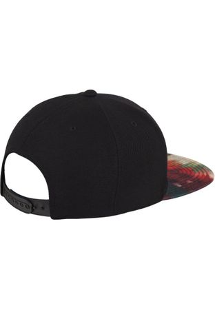 Flexfit Oil Paint Snapback Cap in multicoloured – Bild 3