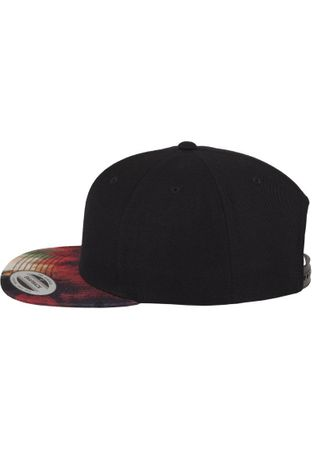 Flexfit Oil Paint Snapback Cap in multicoloured – Bild 2