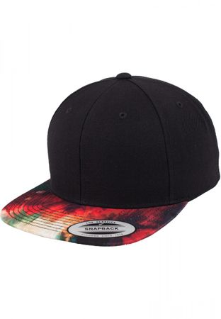 Flexfit Oil Paint Snapback Cap in multicoloured – Bild 1