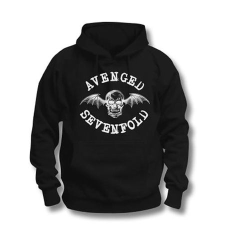 Avenged Sevenfold Hoodie Logo in 2XL
