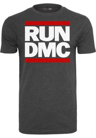 Run DMC T-Shirt Logo in charcoal von S-2XL – Bild 1
