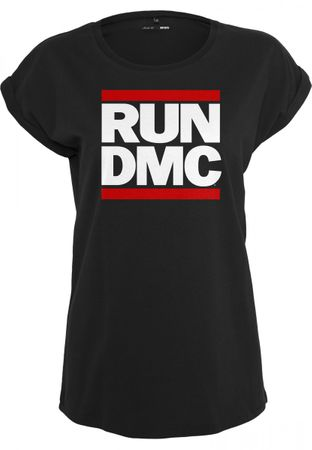 Run DMC Ladies T-Shirt Logo in schwarz von XS-XL – Bild 1