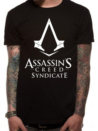 Assassins CreedT-Shirt Syndicate Logo schwarz von S-L