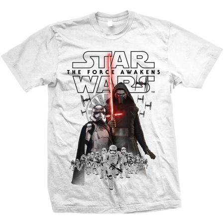 Star Wars Episode VII New Villains Composition T-Shirt in XL und 2XL