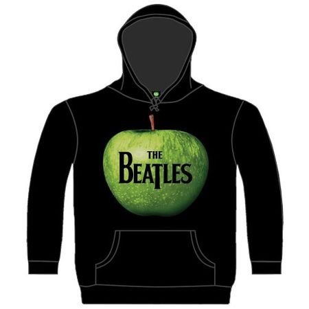 The Beatles Hoodie Apple in schwarz von S-2XL