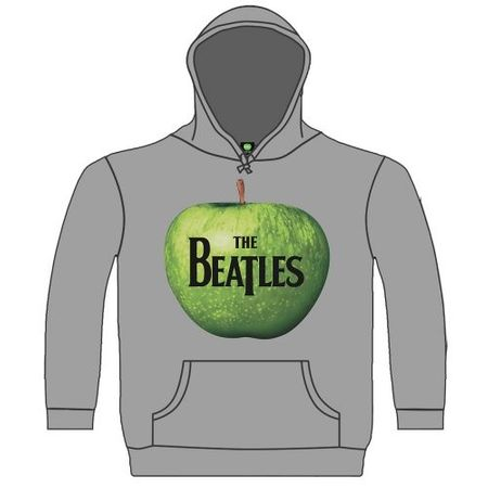 The Beatles Hoodie Apple in grau von S-2XL