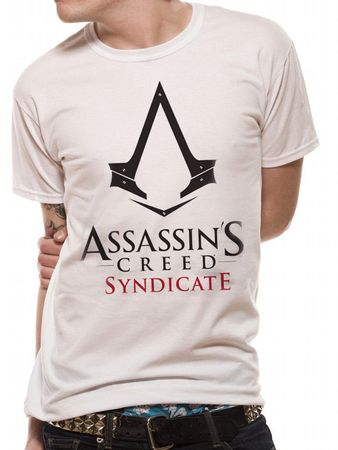 Assassins Creed T-Shirt Syndicate Logo weiß von M-XL
